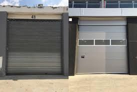 crawford garage doorsMaxiflex installs Crawford sectional doors for Kyalami Grand Prix