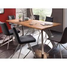 Mca Furniture Milton Esstisch Wildeiche Massiv Nickel 73990