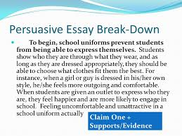 a break down of each required piece ppt video online  6 persuasive