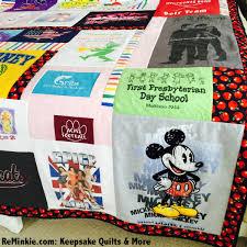 T Shirt Quilt & Keepsake Quilts: Custom-Made for You & T Shirt Quilt: Made from t shirts with sentimental value, as well as an Adamdwight.com