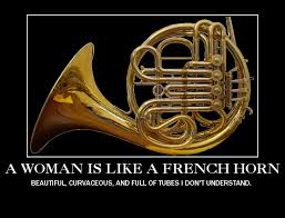 Women and French Horns : funny via Relatably.com