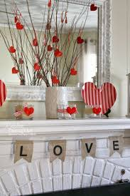 valentine decorations for office. Valentine\u0027s Day Decorating - Diy Home Decor Mantel Random Thoughts From An Incoherent Mind | Valentines Pinterest Mantels And Valentine Decorations For Office N