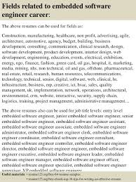... 16. Fields related to embedded software engineer ...