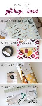 easy diy gift bag boxes and gift card holder it s always autumn make your own gorgeous diy gift bags boxes and gift card holders using pretty