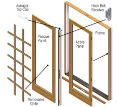 hinged patio doors. Andersen Windows - 400 Series Frenchwood Patio Door Parts Hinged Doors S