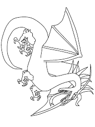 Dragons 26 Fantasy Coloring Pages Coloring Page Book For Kids
