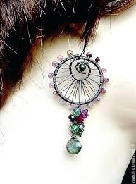 wire wrapped chandelier earrings order tourmaline spiral wire wrapped chandelier earrings jewelry how to make wire wrapped chandelier earrings