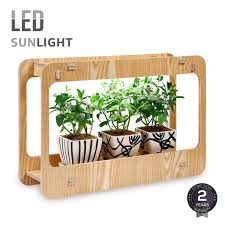 torchstar plant grow led light kit indoor herb garden light with smart timer function cri 95 various plants diy decoration for home kitchen office