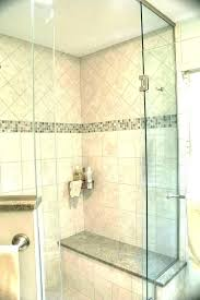 tile shower seat stone bench seats ideas custom with granite height instructions i tile shower bench