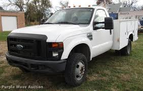 2008 Ford F350 Super Duty utility bed pickup truck | Item DD...