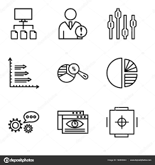 Safe Circle Chart Set Of 9 Simple Editable Icons Such As Safe Box Data Viewer