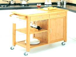 kitchen carts with drop leaf butcher block cart large size of style island side
