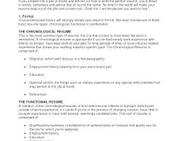 Most Recent Resume Format Current Resume Formats Best Solutions Of
