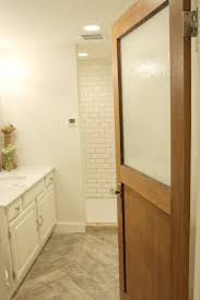 If At First You Dont SucceedA Shower Floor Tale - Basement bathroom remodel