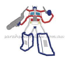 Optimus Prime Embroidery Design Optimus Prime Embroidery Design Optimus Prime