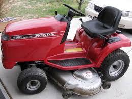 honda 4518 lawn tractor