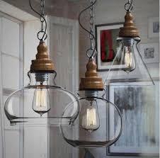 outdoor pendant lighting modern. Plain Modern Wooden Modern Diy Ceiling Lamp Light Glass Pendant Lighting Edison Bulb  Home Outdoor Lights Hanging That Plug In From Lxledlight  With