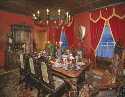 lovely meval dining room meval