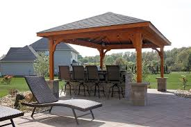 patio cover. 12x16 Patio Cover, Western Red Cedar, Rustic Black Asphalt Shingles, Cedar  Color Stain Patio Cover