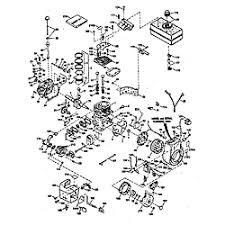 Tecumseh model HMSK100-159096L engine genuine parts
