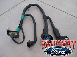 05 thru 07 f 150 oem genuine ford 7 pin trailer tow wiring harness details about 05 thru 07 f 150 oem genuine ford 7 pin trailer tow wiring harness connector new