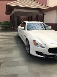 MASERATI QUATTROPORTE 3.0 TWINTURBOCHARGED WHITE ON BROWN 2014