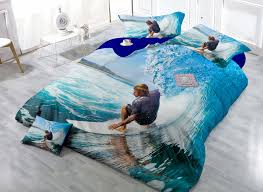 Cheap sheet printing machine, Buy Quality printed vinyl sheet ... & Cheap sheet printing machine, Buy Quality printed vinyl sheet directly from  China sheet and comforter sets Suppliers: Cool Surfing Twin XL Bedding Sets  ... Adamdwight.com