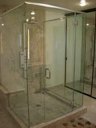 bathroom glass door 7