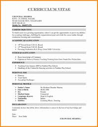 Resume Format Download Pdf Resume Templates Design For Job Seeker