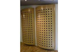 perforated poly diffuser
