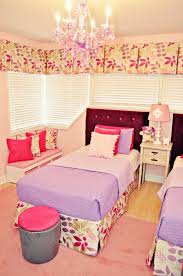Pink Meets Purple in Our Kids Room Reveal