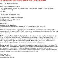 Cover Letter Quality Assurance Hvac Cover Letter Sample Hvac
