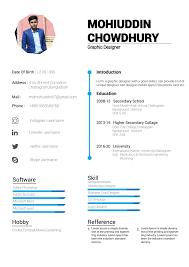 Design Unique And Smart Cv Design For You By Mdmohiuddin46