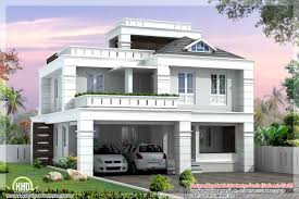 small modern homes | Beautiful 4 BHK contemporary modern simple Indian house  design | Stuff to Buy | Pinterest | Indian house designs, Indian house and  ...
