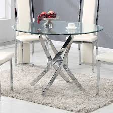 contemporary glass dining tables for