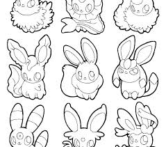 Coloring Pages And Legendary Page Pokemon Sun Moon Color Sheets Go