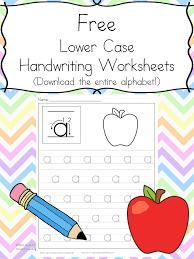Free Handwriting Practice Worksheets -Easy Download