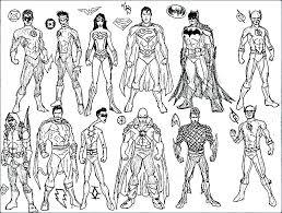Batman Villains Coloring Pages Batman Villains Coloring Pages Batman