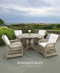 page 1 2 0 14 catalog kingsley bate elegant outdoor furniture