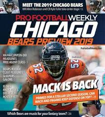 Chicago Bears Wr Depth Chart Bears Depth Chart Kicker Competition A Dead Heat As Chicago