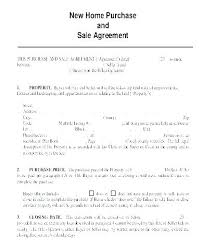 Sale Agreement Forms Free Sales Contract Template