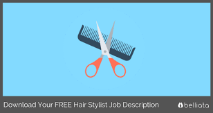 Hairstylist Job Description Classy Save Time Download Your Sample Hair Stylist Job Description For FREE