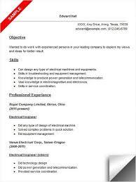 Electrical Engineer Resume Sample | Resume Examples | Pinterest ...