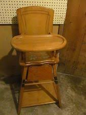 antique wooden potty chair antique high chairs wooden
