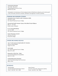 Resume Templates Free Microsoft Word Best Of Ms Word Template Format