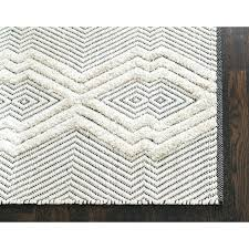black and grey area rugs gracie oaks tufted tribal hand woven black white area rug reviews