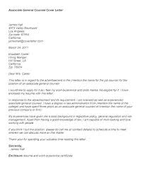 General Cover Letter Examples For Resume Cover Letter For Job