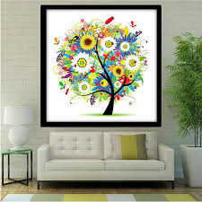 Small Picture DIY 5D Diamond Embroidery Painting Flower Animal Cross Stitch Home