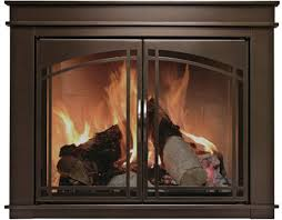 this pleasant hearth fenwick fireplace glass door enhances your existing traditional fireplace while reducing your energy bills the cabinet doors with an
