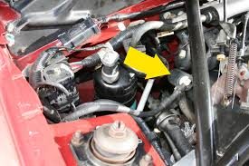 fix sn 95 mustang gasoline odor issue themustangnewsthemustangnews the valve which is located at the rear passenger side of the engine is closed when the engine
